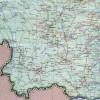 Карта южного Китая
