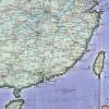 Карта юго-востока Китая
