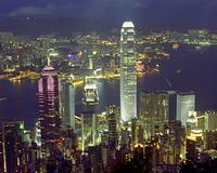 hong kong victoria peak - Остров Гонконг