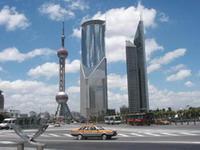 shanghai lujiazui - Небоскребы Люцзяцзуй