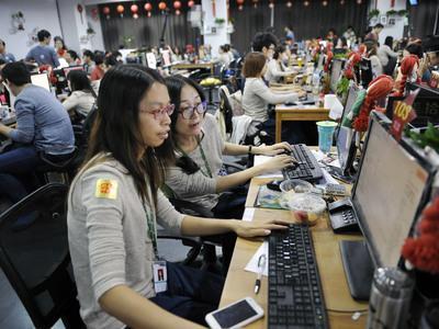 China Celebrates Single's Day