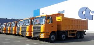 Китайские производители грузовиков возлагают надежды на зарубежные рынки (2)