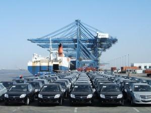 Экспорт китайских автомобилей  (1)