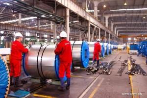 В 2015 году объем экспортируемой Китаем стали превысил 100 млн тонн (2)