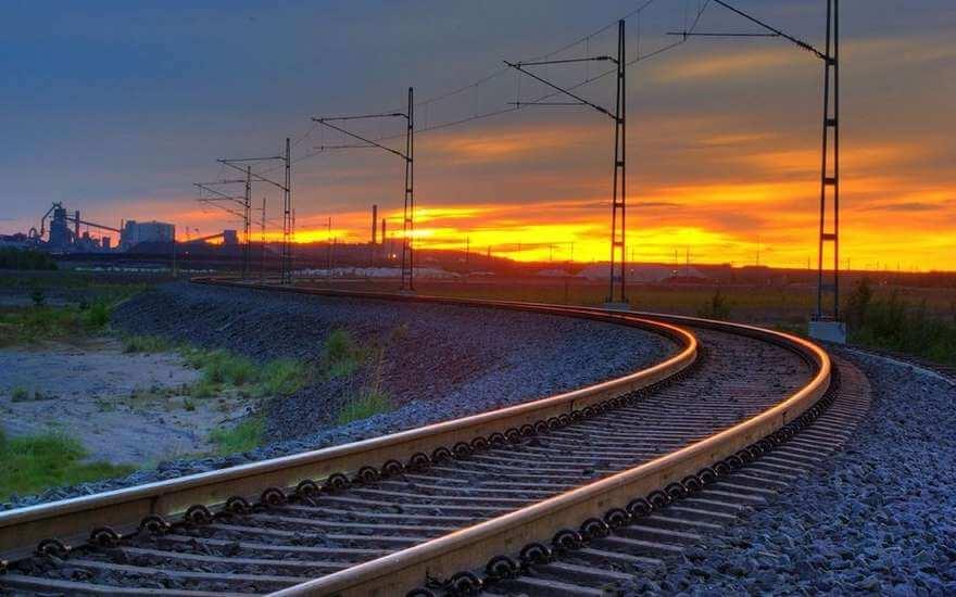линия по сборке высокоскоростного железнодорожного полотна (3)