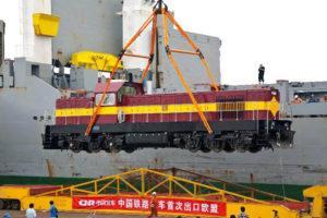 Китай готовится расширить экспорт локомотивов и оборудования для рельсового транспорта