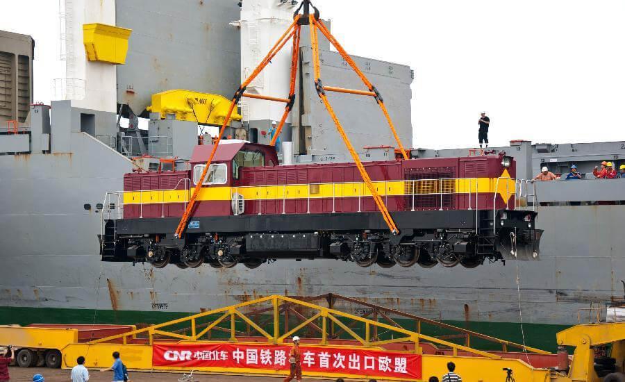 Китай готовится расширить экспорт локомотивов и оборудования для рельсового транспорта (1)