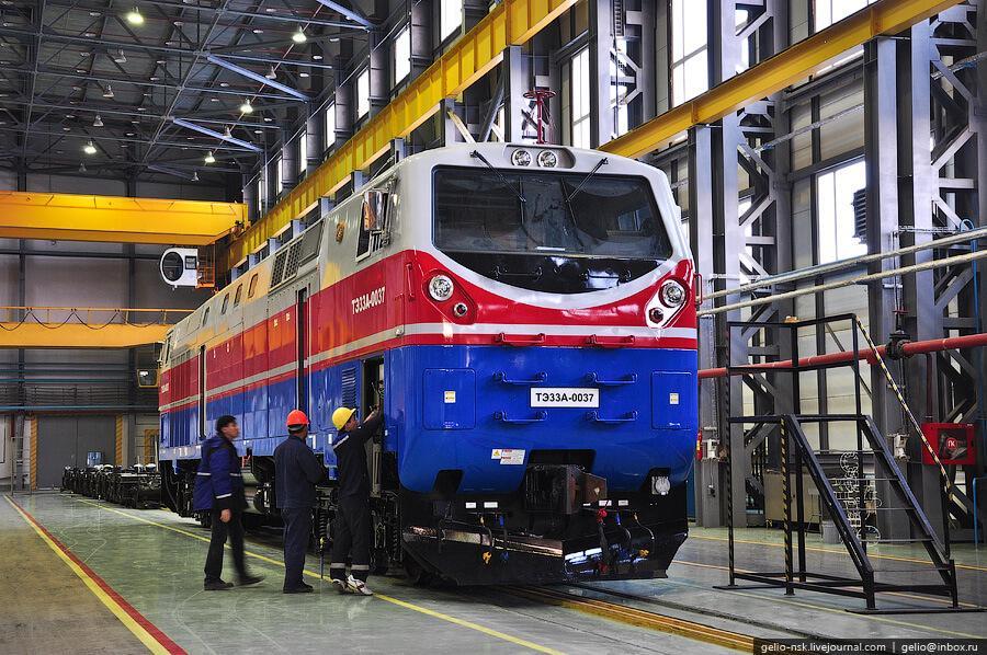 Китай готовится расширить экспорт локомотивов и оборудования для рельсового транспорта (2)