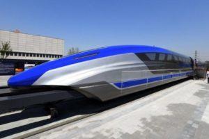 В Китае создали самый быстрый поезд в мире!